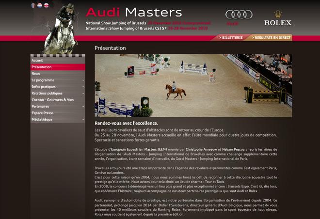 Audi Masters Detail 1
